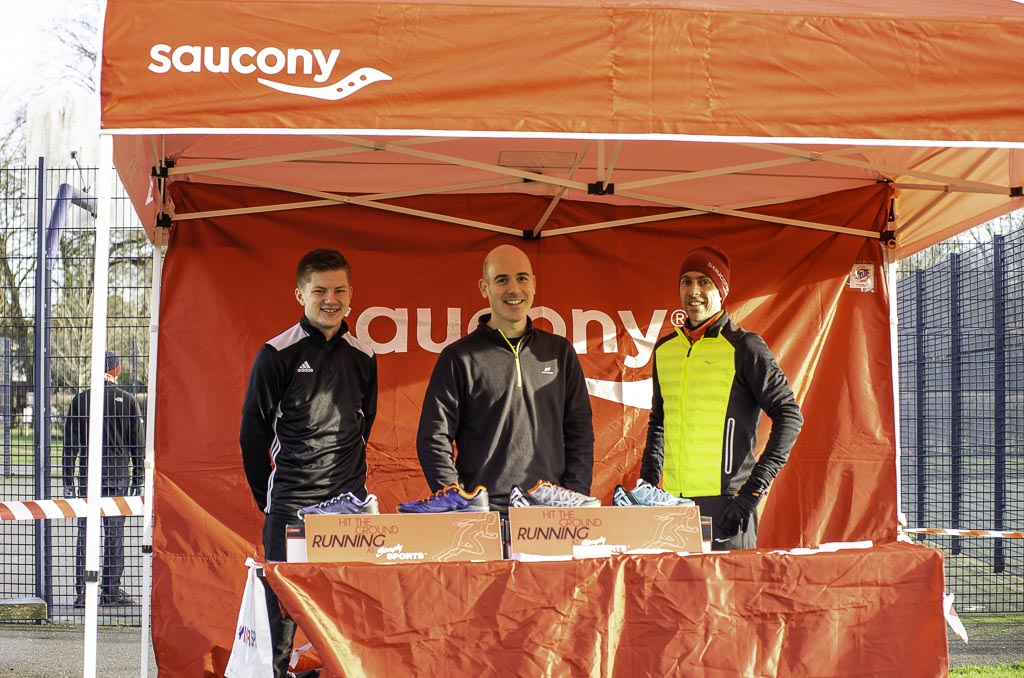 Holly Run 2018 Saucony Stand