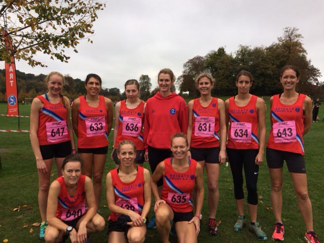 Ladies Surrey League 14th Oct 2017 v2