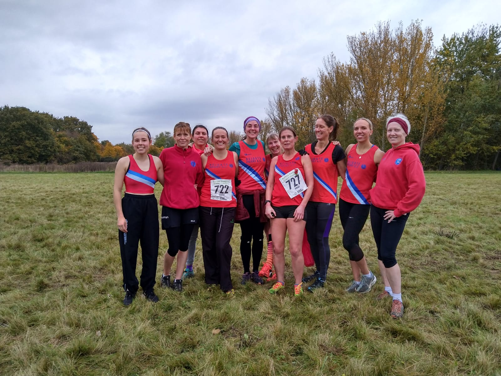 Ladies Surrey League xc 10th Nov 2019