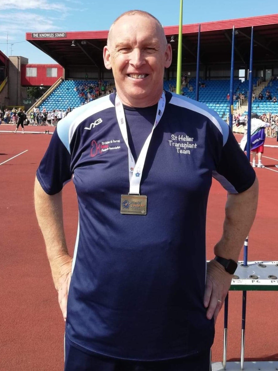 Moray Laing British Transplant Games 1