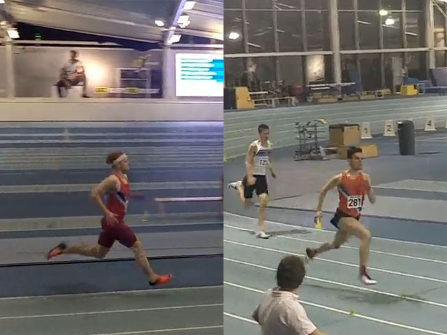 drew burridge and james naylor at lee valley