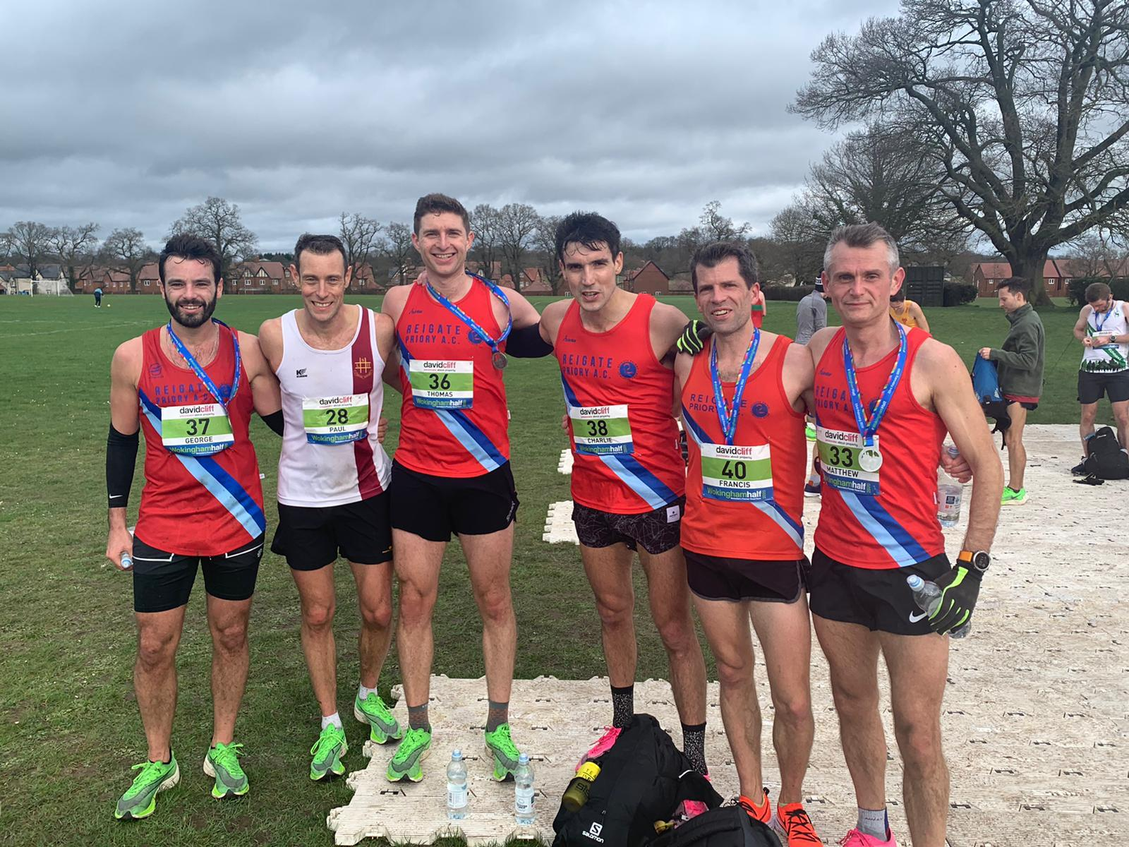 RPAC men at Wokingham 2020